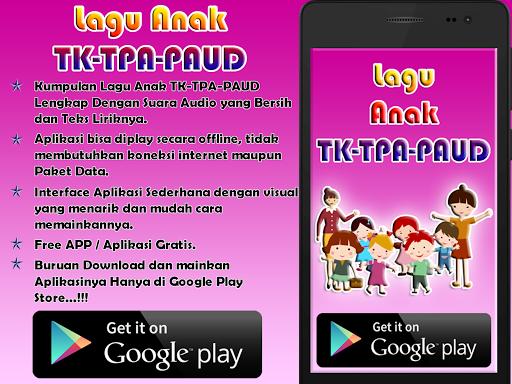 Kumpulan Lagu TK-TPA-PAUD 6.1.4 screenshots 1
