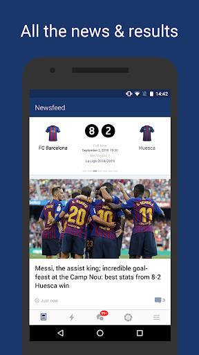 Barcelona Live — Unofficial app for FC Barca Fans