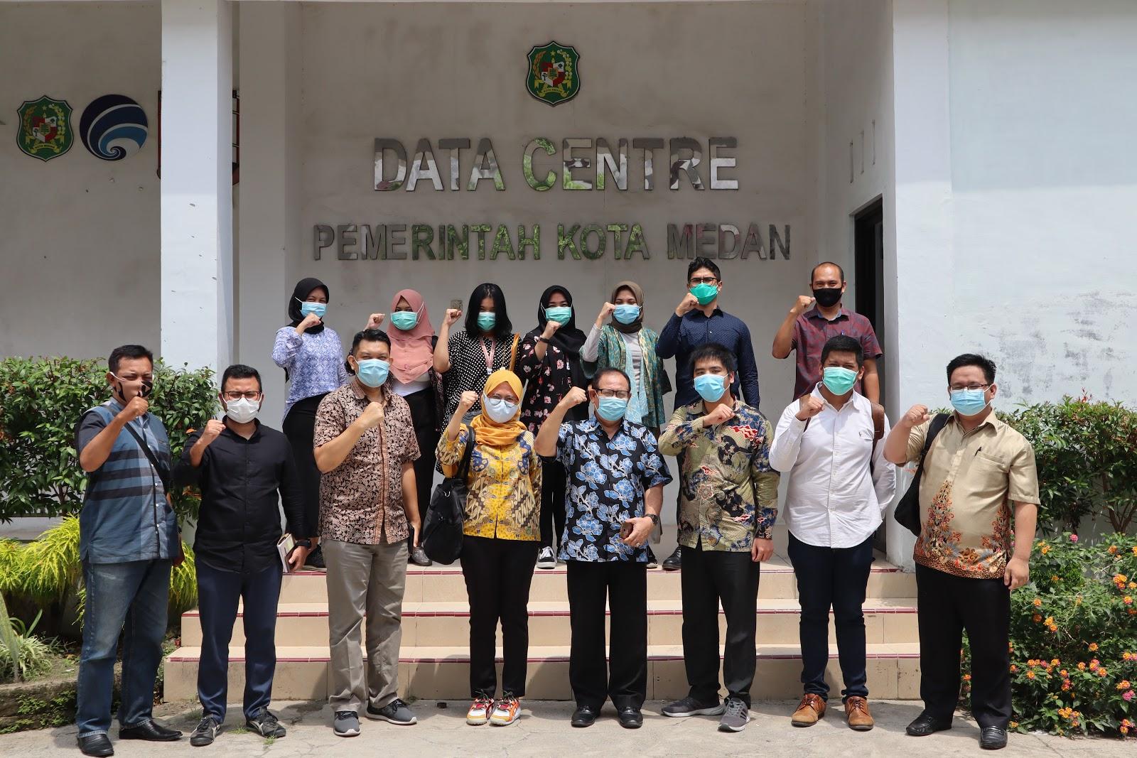 Percepatan Satu Data Indonesia, Portal Satu Data Kota Medan Berhasil Diintegrasikan