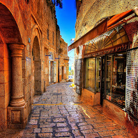 yaffo by Joel Adolfo - City,  Street & Park  Markets & Shops ( roads, transportation )