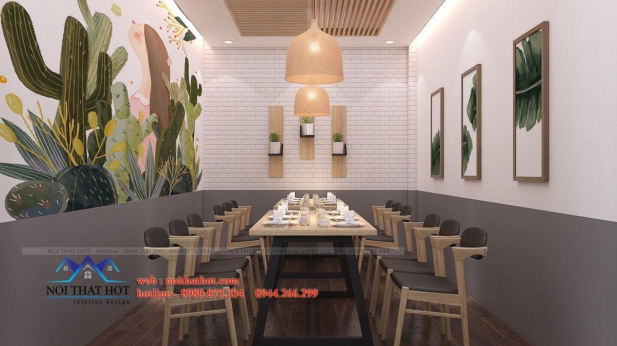 thiết kế nhà hàng trường giang 32