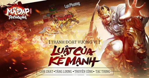 Mã Đạp Thiên Quân poster