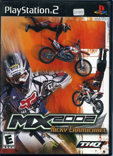 Video game:Sony PlayStation 2 MX 2002 Featuring Ricky Carmichael