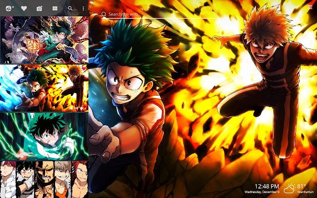 Boku No Hero Academia Hd Wallpapers New Tab