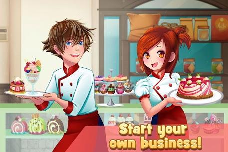 Dessert Chain: Café Waitress & Restaurant Chef 0.8.29 APK Mod for Android 3