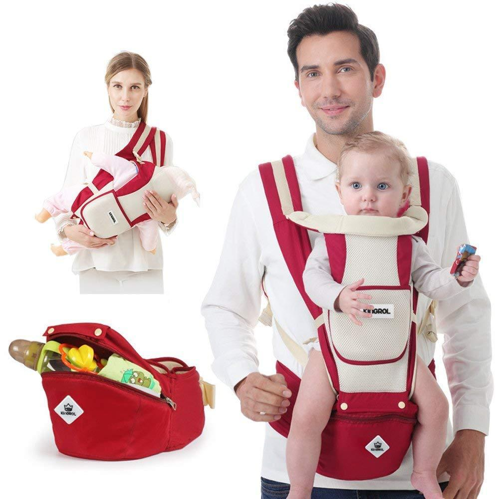 Diggold's Soft Sling Baby Carrier With Hip Seat and Utility Pouch