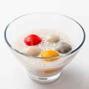 Coconut Cream & Warm Rainbow Mochi