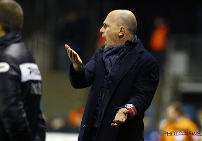 Le coach de Genk Philippe Clement n'est pas trop satisfait du 0-0 au Slavia Prague