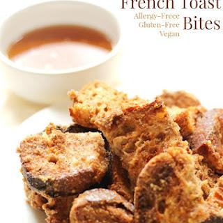 Gluten-Free Cinnamon French Toast Bites (Allergy-Free, Vegan).