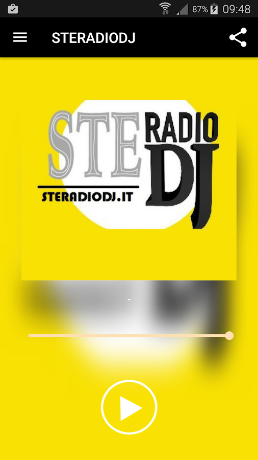 STERADIODJ- screenshot