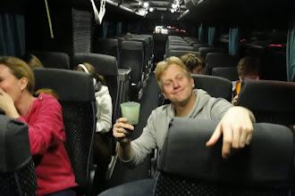 Photo: Prost, meint Marco, auf einen tollen Urlaub