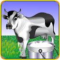 Happy Milking Cow icon