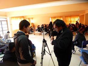 Photo: En un ensayo de la Orquesta Juvenil de Lebu