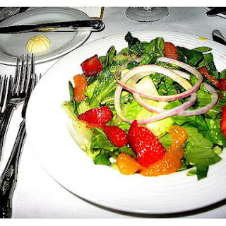 Mandarin Fruit Salad.