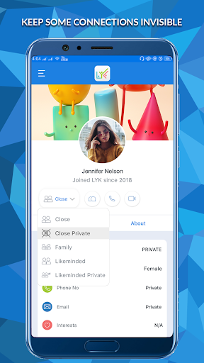 LYK - Chat and Connect with LYKMinded People 1.6.1 screenshots 2