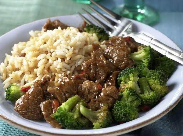 Beef And Broccoli With Rice {crock Pot} Recipe