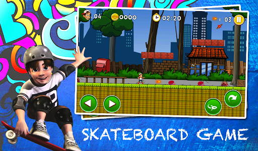Mike Skate Adventure screenshot 1