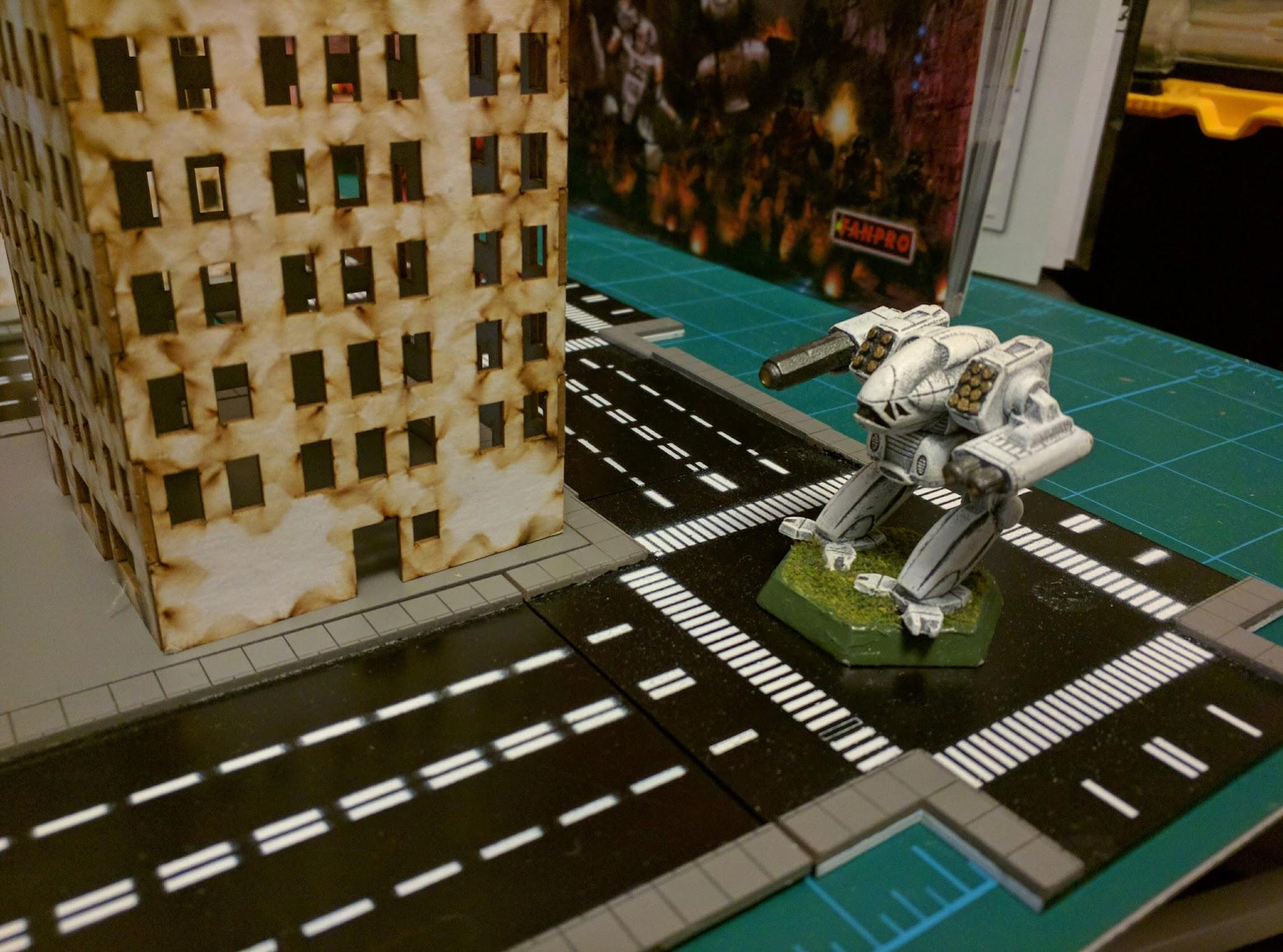 GameCraft 6mm city streets & buildings