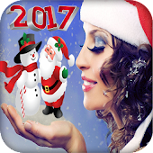 Christmas Photo Stickers maker 🎅🎄