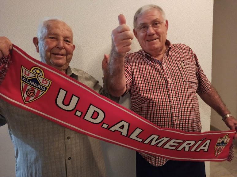 José Tortosa y José M. Cantón, pasión por el Almería.