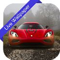 3D Red Magic Car Cube LWP icon