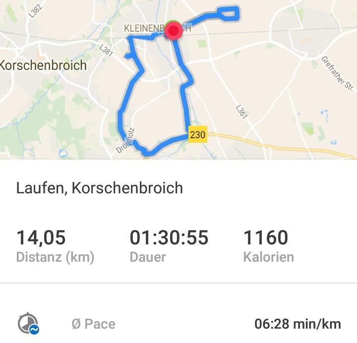 Laufen Runtastic Korschenbroich 19022017