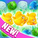 Mermaid puzzle – fish rescue! icon