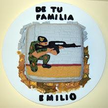 Photo: Tarta militar