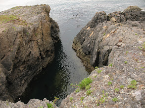 Photo: Day 2: Details of the rock formation at Iceburg Point.