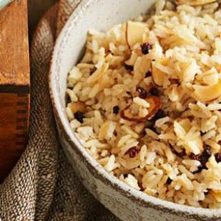 Brown Rice Pilaf.