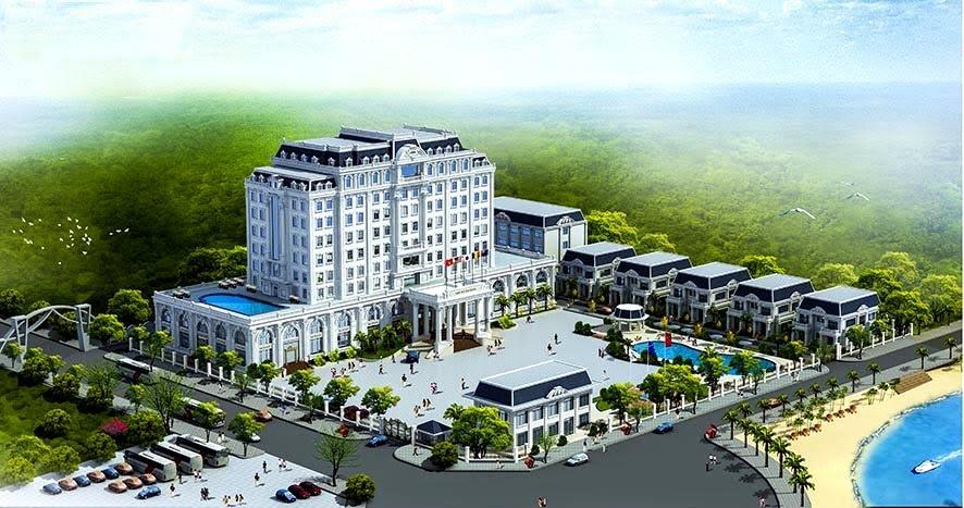 Khách sạn 5 sao trong quần thể du lịch Song Ngư Sơn