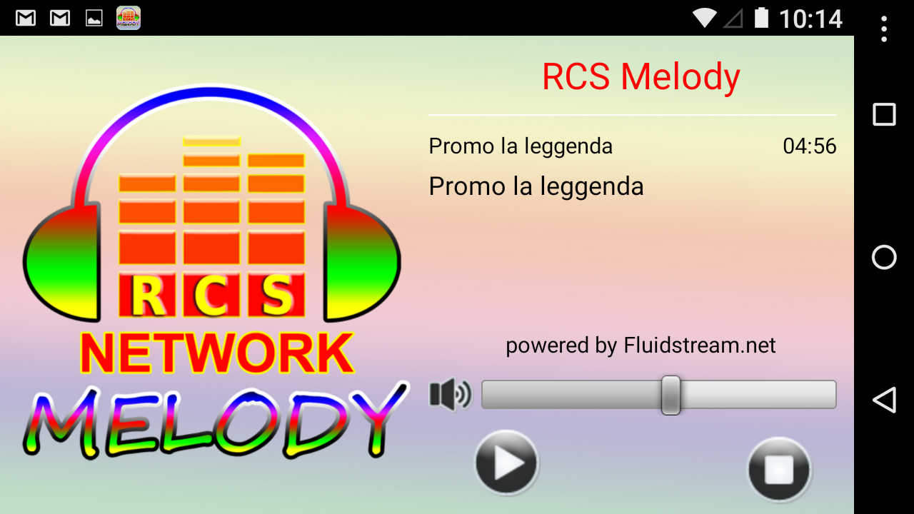 RCS Melody- screenshot