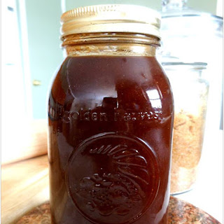 Almost Sweet Baby Ray's BBQ Sauce.