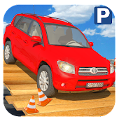 4x4 Jeep City Drive 3D : Jeep Parking Game