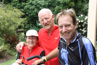 Photo: Year 2 Day 152 - Glenys, Max and Rog, at the End of our Ride