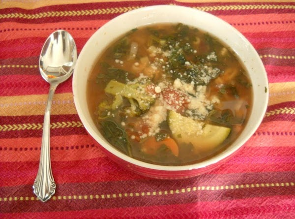 Mixed Bean & Veggie Soup Recipe