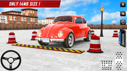 Classic Car Parking Real Driving Test apktram screenshots 6