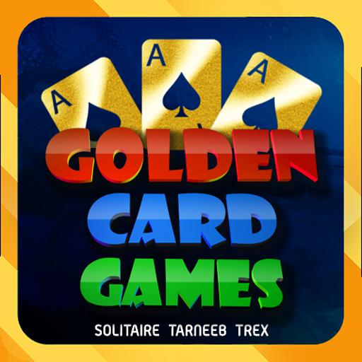 Golden Card Games (Tarneeb – Trix – Solitaire)