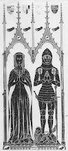Photo: d.1411, Thomas de Crewe and wife