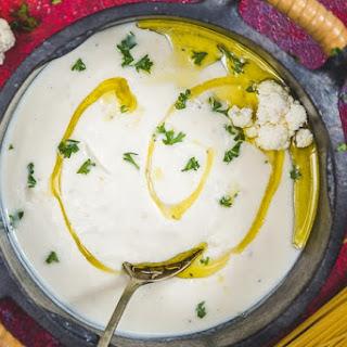 Cauliflower Cheese Sauce.