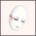 巫女の仮面