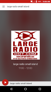large radio small island- screenshot thumbnail