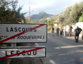 Photo: Lascour au pied du Garlaban