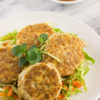 Tofu and Pork Mince Patties.