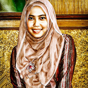 Potrait by Hendra Edi Saputra - Painting All Painting