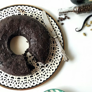 Chocolate Cardamom Espresso Cake.