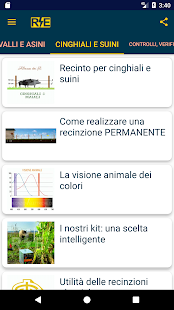 Blog electric fence Italian- screenshot thumbnail