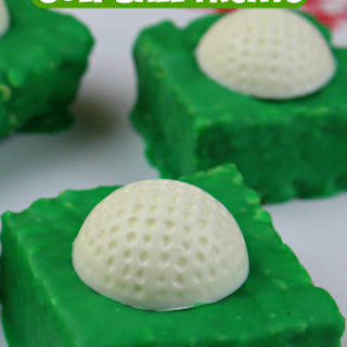 Rice Krispies Golf Ball Treats!