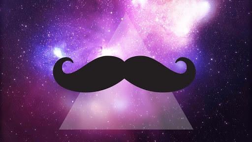 Mustache Live Wallpaper HD