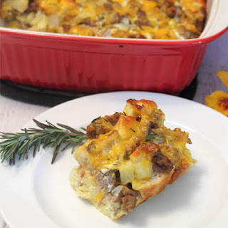 Sausage Apple Breakfast Casserole